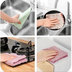 4PCS Kitchen Towels/Linens Premium Coral Velvet